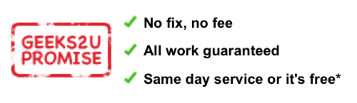 Geeks2U's first guarantee.