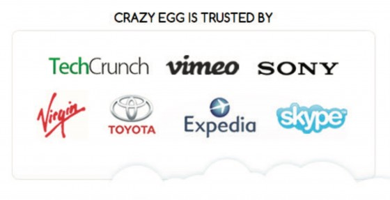 Crazy Egg's clients