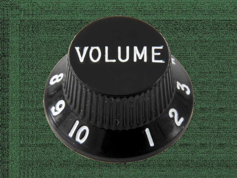 A volume knob
