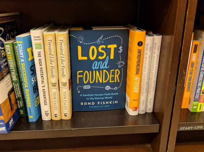 Rand Fishkin's book, Lost and Founder